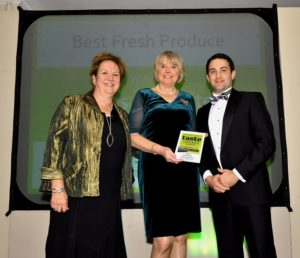 021116 Winners of the Bestfresh Produce at the deliciouslyorkshire and Yorkshire Post Taste Awards at the Pavilions in Harrogate, in association with Ibbotsons Produce , Herbs Unlimited .