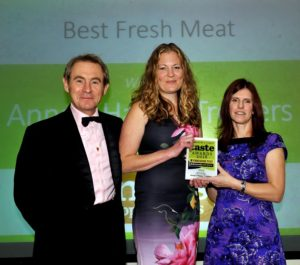 021116 Winners of the Best Fresh Mest at the deliciouslyorkshire and Yorkshire Post Taste Awards at the Pavilions in Harrogate, in association with Vemer Wheelock, Anna's Happy Trotters .