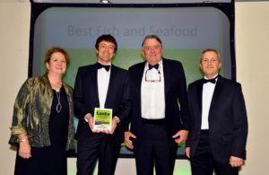021116 Winners of the BestFish and Seafood at the deliciouslyorkshire and Yorkshire Post Taste Awards at the Pavilions in Harrogate, in association with Yorkshire Bank, Kilnsey Park Estate.