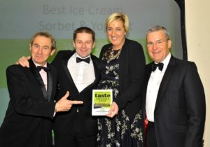 021116 Winners of the BestIce Cream at the deliciouslyorkshire and Yorkshire Post Taste Awards at the Pavilions in Harrogate, in association with Welcome to Yorkshire, Yummy Yorkshire.