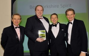 021116 Winners of the Best Yorkshire Spirit at the deliciouslyorkshire and Yorkshire Post Taste Awards at the Pavilions in Harrogate, in association with How's Business , York Brewery.
