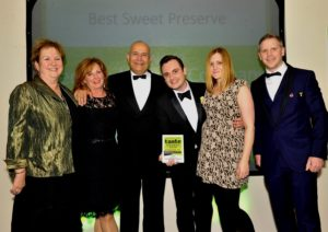 021116 Winners of the Best Sweet POreserve at the deliciouslyorkshire and Yorkshire Post Taste Awards at the Pavilions in Harrogate, in association with Asda, Peckish Kitchen Company.