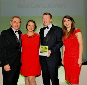 021116 Winners of the Best Confectionary at the deliciouslyorkshire and Yorkshire Post Taste Awards at the Pavilions in Harrogate, in association with Asda , Ye Olde Sun Inn.