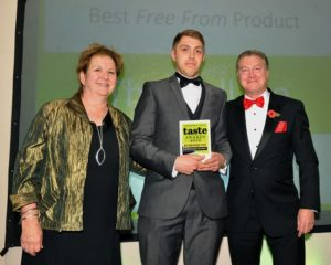 021116 Winners of the Best 'Free From' Product at the deliciouslyorkshire and Yorkshire Post Taste Awards at the Pavilions in Harrogate, in association with Ulrick and Short , The Hull Pie.