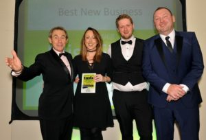 021116 Winners of the Best New Business at the deliciouslyorkshire and Yorkshire Post Taste Awards at the Pavilions in Harrogate, in association with Engine Room, Miss Friday.
