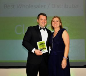 021116 Winners of the Best Wholesaler/Distributer at the deliciouslyorkshire and Yorkshire Post Taste Awards at the Pavilions in Harrogate, in association with Yorkshire Post , Class One.