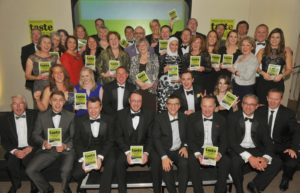 021116 The Winners at the deliciouslyorkshire and Yorkshire Post Taste Awards at the Pavilions in Harrogate.