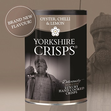 Yorkshire Crisps launch Oyster, Chilli & Lemon Crisps
