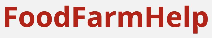 Food Farm Help logo