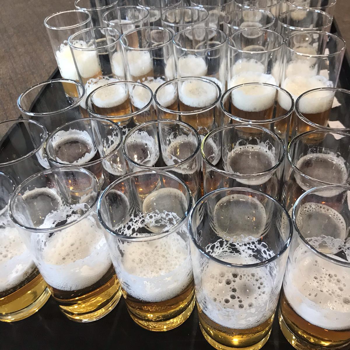 Taste Awards 2019 beer judging
